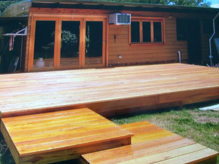 (3) After photo- removed window and replaced with Bi fold doors also removed old kitchen window and replaced with Bi folds and made a servers area from kitchen to deck. Built a multi level deck, creating a fabulous indoor / outdoor area. St Andrews Beach, Mornington Peninsula
