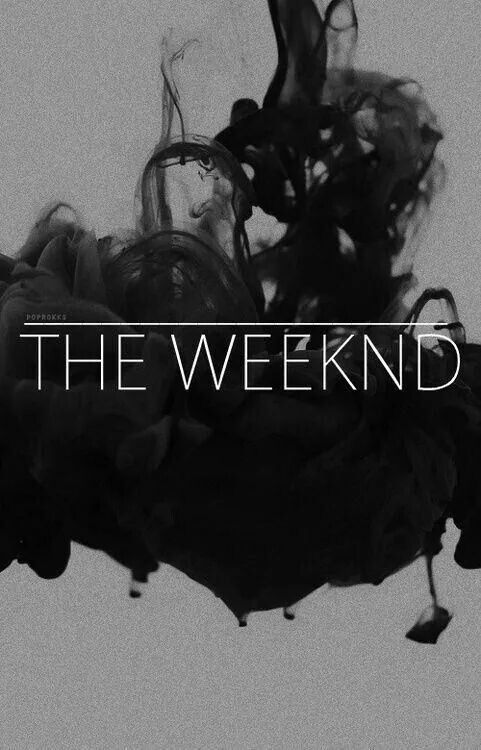 the weeknd is always on repeat.