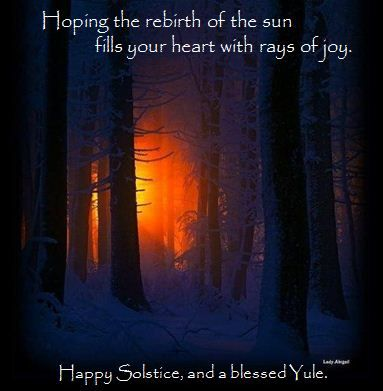 Happy Solstice, Winter Solstice, Blessed Yule, Yuletide, Pagan Holiday Greetings, Non-religious holiday greetings, happy holidays