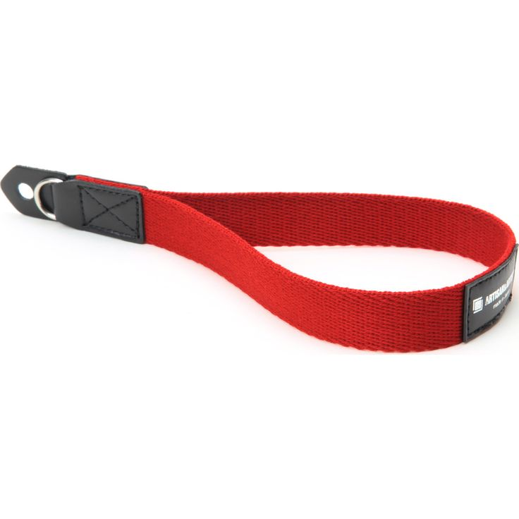 Artisan&Artist Acrylic Camera Wrist Strap | Red