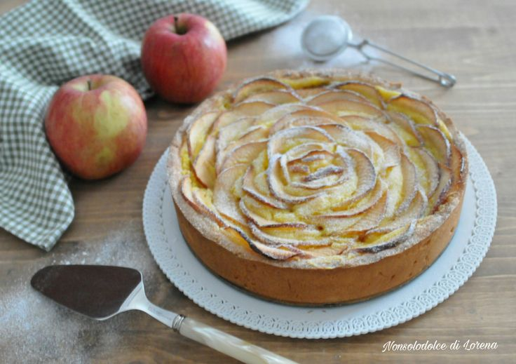Crostata fior di mela