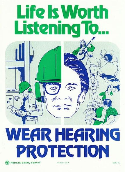 https://www.flicklearning.com/courses/health-and-safety/personal-protective-equipment-training Vintage safety posters, life is worth listening to.