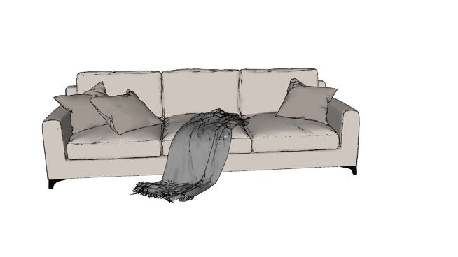 Sofa 3d Warehouse Sofa Sketch Up Warehouse Sectional Couch