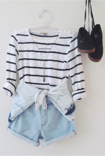 Short Cintura Alta, look fofo!