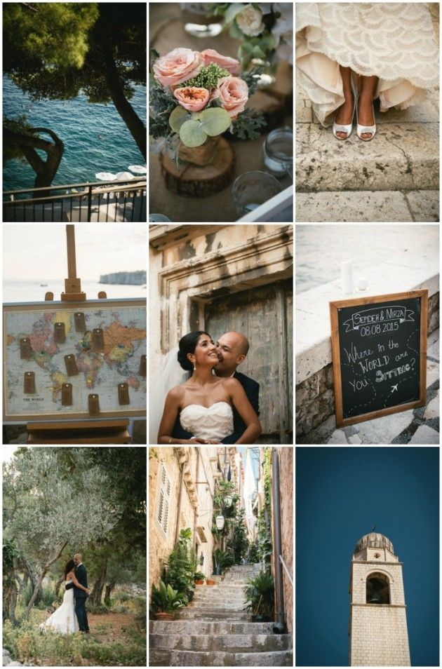 Beautiful Croatia Wedding | Ambre Peyrotty | Bridal Musings Wedding Blog