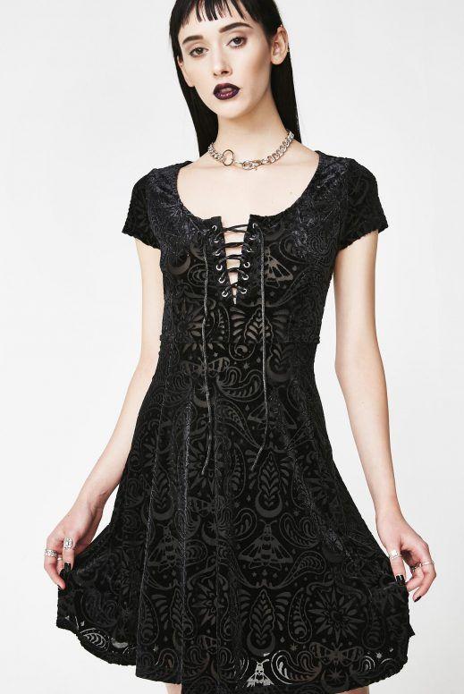 464db6463d KillstarAngelyn Burnout Velvet Dress  nugoth  darkaesthetic  streetgoth   wicca  dark  coven  occult  witches  alternative  gothgoth  witchy   gothfashion ...