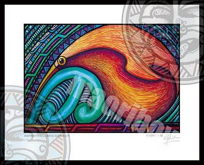 Warren Pohatu's art its so beautiful.