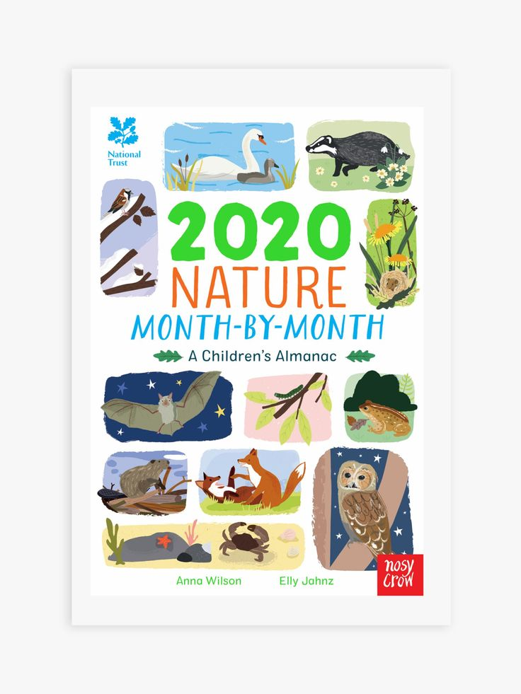National Trust Nature 2020 MonthByMonth Children's