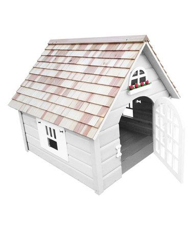 Look what I found on #zulily! White Victorian Doghouse by Home Bazaar #zulilyfinds