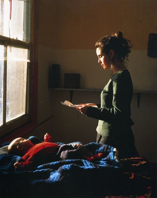Tom Hunter -Woman Reading a Possession Order