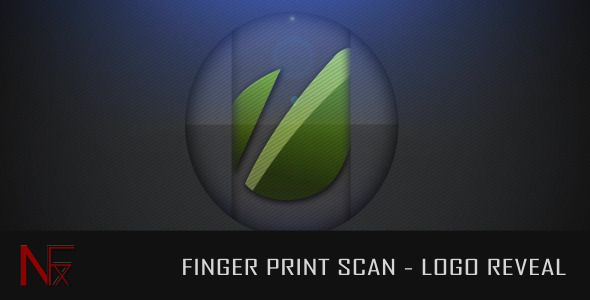 After Effects Project Files - Finger Print Scan - Logo Reveal | VideoHive