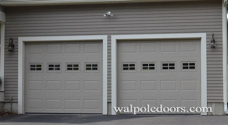 I Could See Myself With Garage Doors Like This I