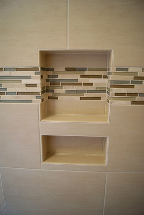 Vertical Accent Tile In Shower See More Photos Of