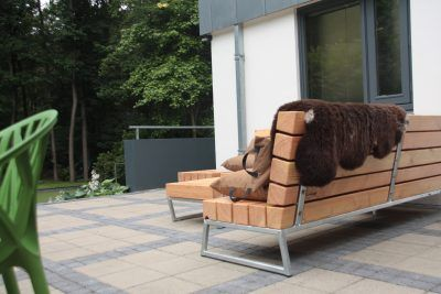 Loungebank Tuin Hout.Lounge Hoek In 2019 Garden Tuin Tuin Loungebank En Tuin