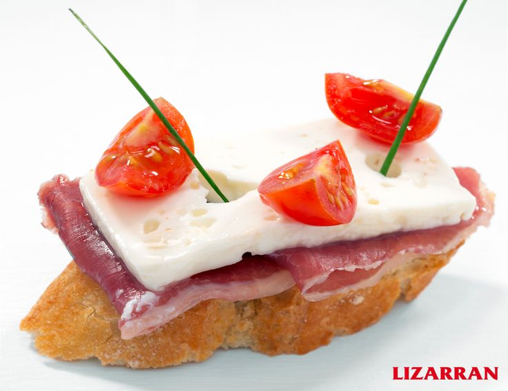 Cecina con queso fresco #Lizarran #Pinchos