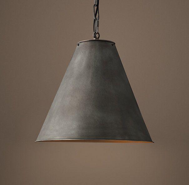 Circa Lighting Pendants Holophane Brass Pendant Light