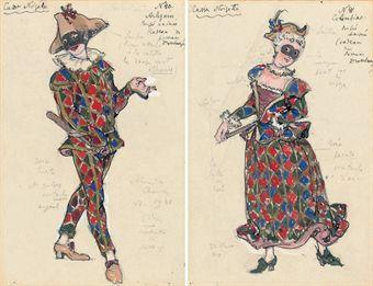Alexandre Benois Nutcracker Costume designs