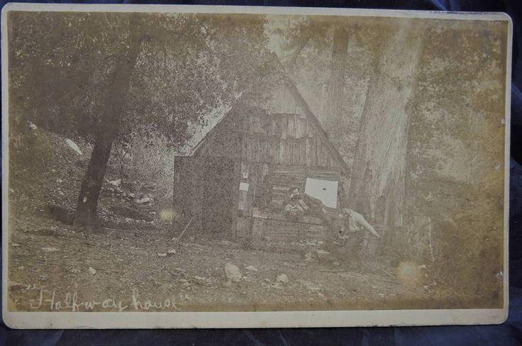 1890s Cabinet Card - Halfway House California