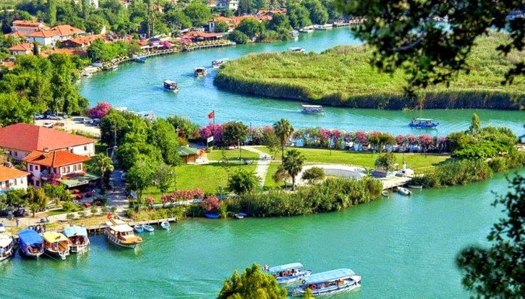 Guided Tour to #Dalyan from #Fethiye, #Hisaronu, #Oludeniz