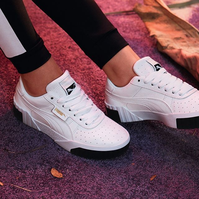 Monochrome Cali Sneaker by PUMA See more at WWW.TRANSFER