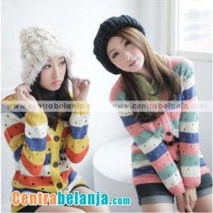 Centra Belanja Craving Cardy B120 Baju Model Korea Murah, Mode Pakaian Korea dengan Trend Model Baju Korea Terbaru modis style dan penuh gaya harga murah