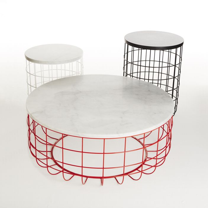 Discover All The Information About The Product Original Design Coffee Table  / Walnut / White Oak / Steel WIRE   Dare Studio And Find Where You Can Buy  It.