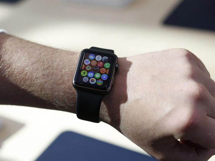 Fintech apps on Apple Watch