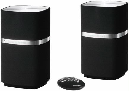 Bowers and Wilkins Powered Mini Speakers - best computer speakers I've ever used... and the cats love to knock them to the floor.  :-0
