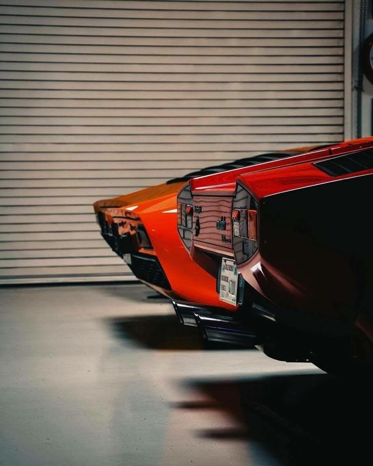 Lamborghini Miura and Countach⭕️✖️More Pins Like This One At #FOSTERGINGER @ Pinterest✖️⭕️