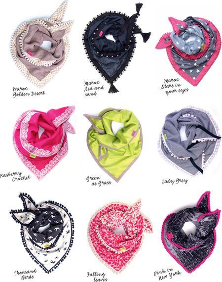 Pop up store: Pom sjaals