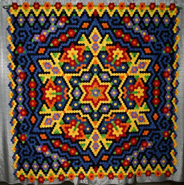 450 Best Hexie Love Images On Pinterest Hexagon Quilting Hexagons