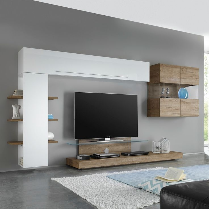 Die besten 25+ Wohnwand hochglanz Ideen auf Pinterest Tv wand - h ngeschrank wohnzimmer wei