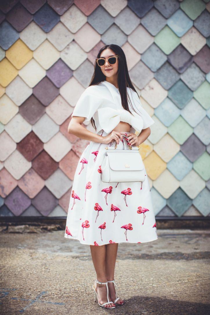 Galina Thomas: Look of the day: Flamingos