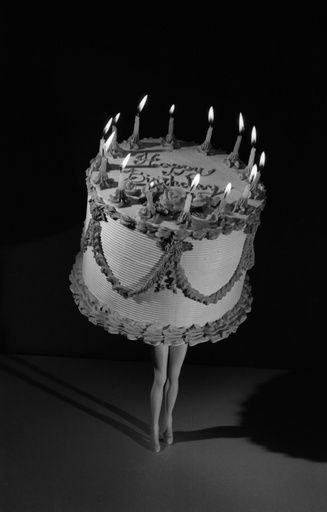Laurie Simmons, Walking Cake, 1989 on Paddle8
