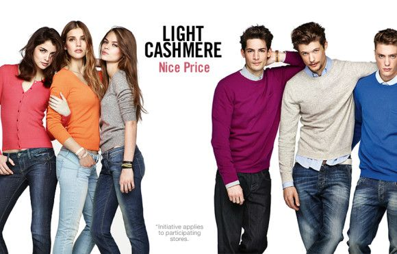 Banetton Cashmere for men and women