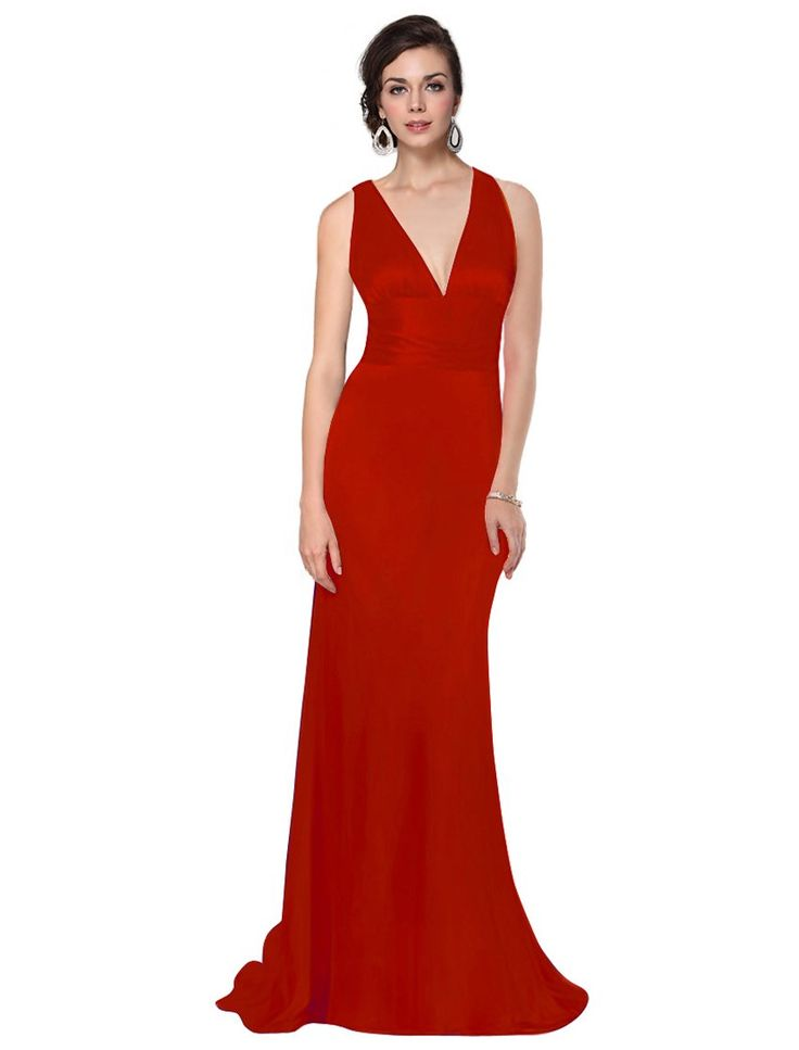 Ever Pretty Women's Trailing V-Neck Gown at Amazon Women's Clothing store: