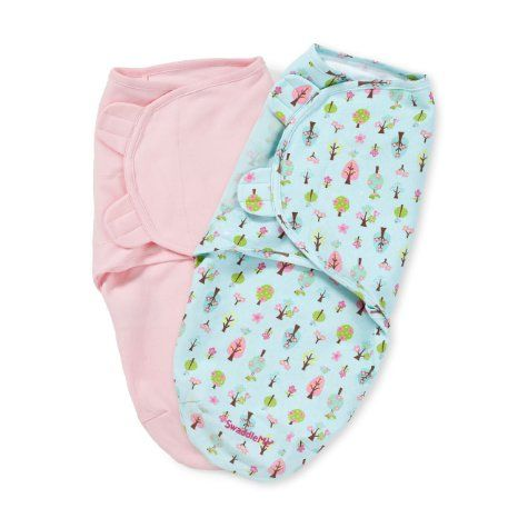 Summer Infant 2 Count Swaddleme Blanket, Sweet Trees, Small, 2016 Amazon Most Gifted Bedding  #Baby