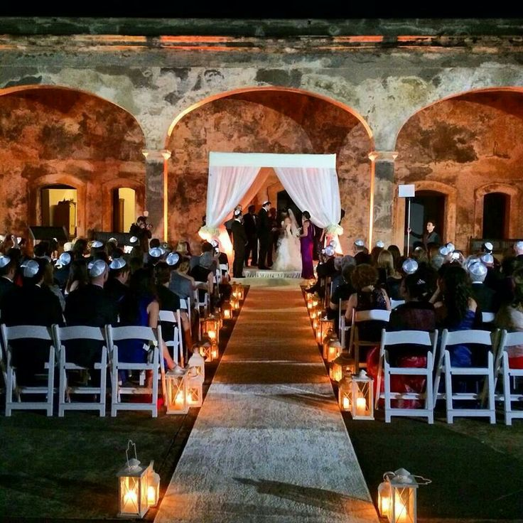 Jewish Wedding At San Cristobal Fort In Old Juan