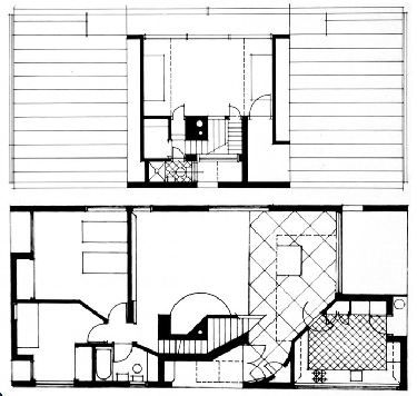 AD Classics: Vanna Venturi House / Robert Venturi groundfloorplan – ArchDaily