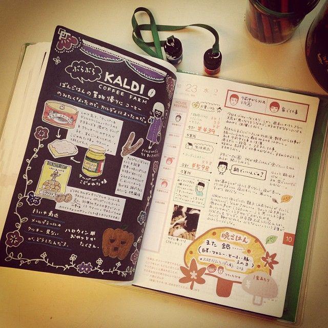 画像 : 【ほぼ日手帳】手帳を楽しむ使い方 まとめ 2014 - NAVER まとめ