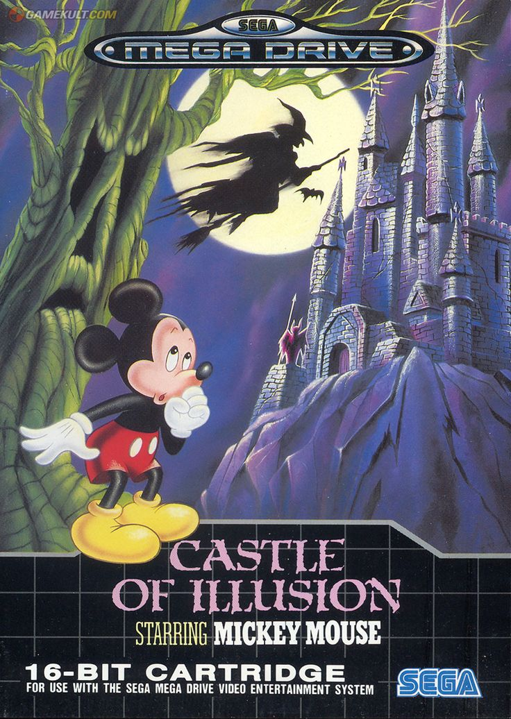 Castle of Illusion - Sega Mega Drive