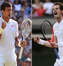 Djokovic v murray - who will win? #datenight #uplate #wimbledon