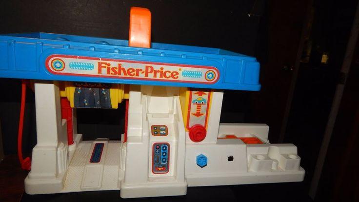 Fisher Price Car Wash Vintage