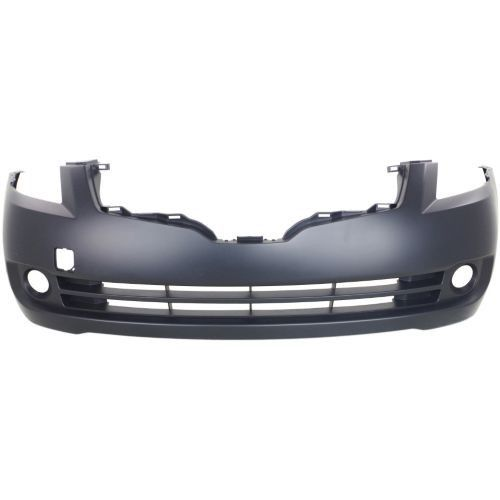 2007-2009 Nissan Altima Front Bumper Cover, Primed, Sedan - Capa