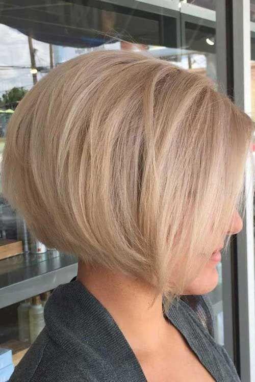 Blonde Kurze Haare Ideen Fur Damen Kurze Blonde Haare 2018 14 Bob