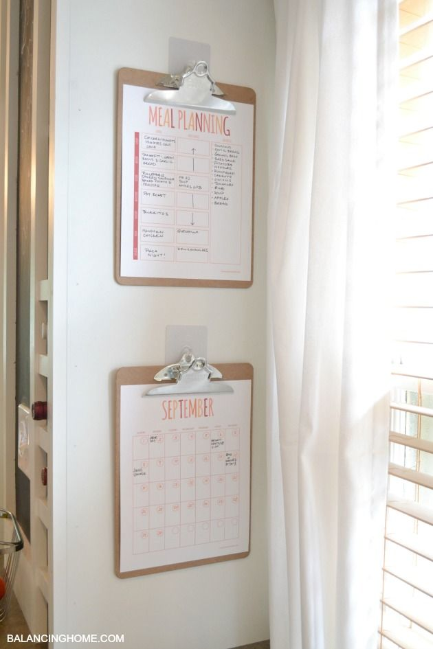 Hanging Planner Calendar : Unique meal planning board ideas on pinterest