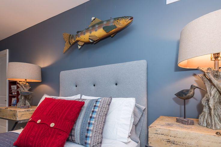 #bedroom #kidsroom #childrensroom #childsroom #bedroomdesign #kidsroomdesign #kidsroomideas #fishingtheme #laketheme #creativekidsroom #fishingroom #woodenoar #design #customdesign #designer #yorkregion #symphonyofcolour