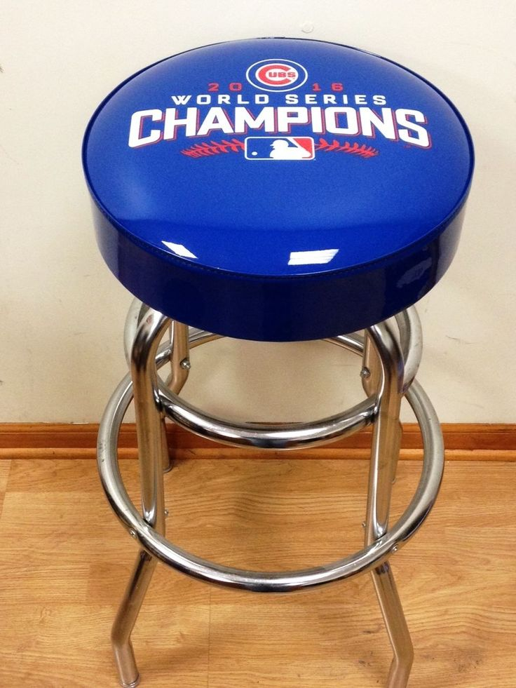 2016 WORLD SERIES CHAMPIONS CHICAGO CUBS WORLD SERIES BAR STOOL STOOLS - NEW!!!! in Sports Mem, Cards & Fan Shop, Fan Apparel & Souvenirs, Baseball-MLB | eBay