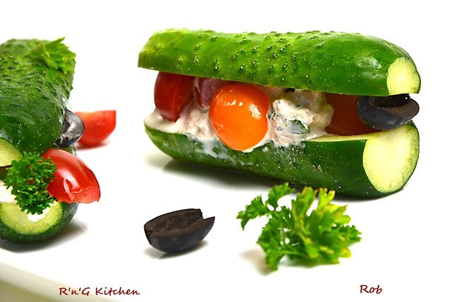 R'n'G Kitchen: Kanapka ogórkowa z tuńczykiem