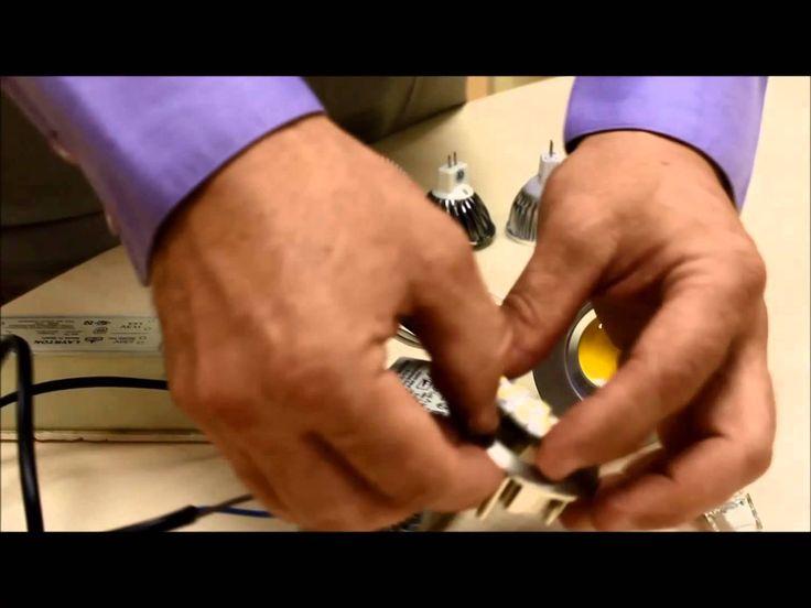 En este tutorial te vamos a enseñar cómo puedes sustituir un halógeno tradicional por otro LED tipo PIN, ideal para su instalación en techos bajos o paredes de fondo estrecho. ¡Y en poco más de dos minutos!